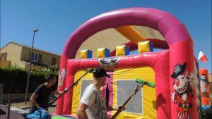 Comment nettoyer un château gonflable moisissure?